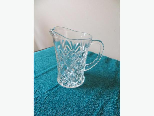 Pressed glass Large Creamer (reduced)