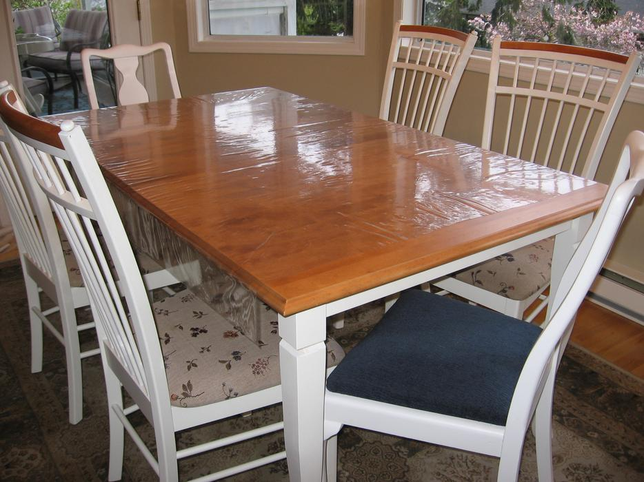 dining room table amp six chairs esquimalt amp view royal