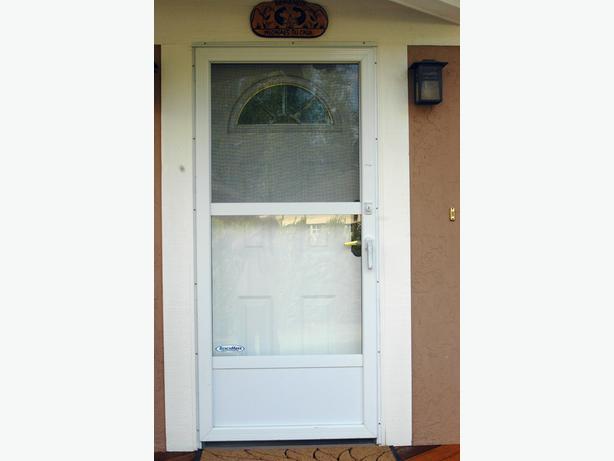 Storm door qualicum nanaimo for All glass storm door