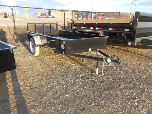 2014 hi tec 5x10 utility trailer hh3653 outside winnipeg for 5x10 wood floor trailer