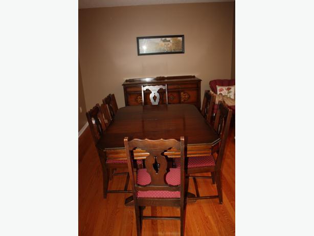Solid Walnut Dining Room Set New Price Stittsville Ottawa : 46542932614 from www.usedottawa.com size 614 x 461 jpeg 21kB
