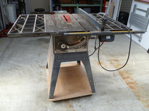 Craftsman table saw south nanaimo nanaimo for 10 inch table saw craftsman
