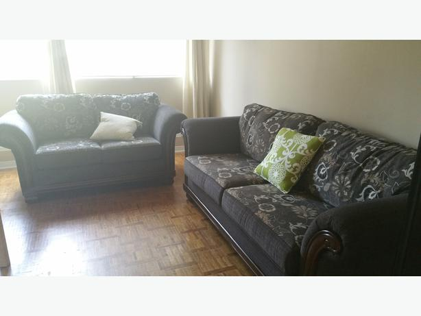 Sofa The Brick Amusing Loveseat And Sofa For Sale The Brick $400  $500 Central Ottawa . Design Inspiration