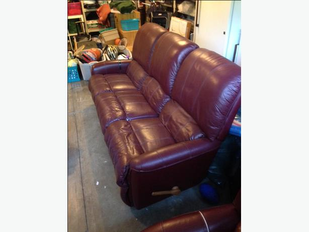 Lazy Boy Leather Recliner Amp Chair Chilliwack Fraser