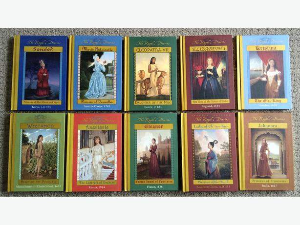 Lot of 10 Dear America Books Hardcover FREE SHIP scholastic historical fiction