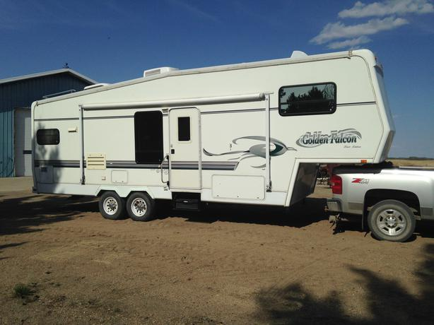 2000 Golden Falcon 28 Ft 5th Wheel Rv Camper Other South