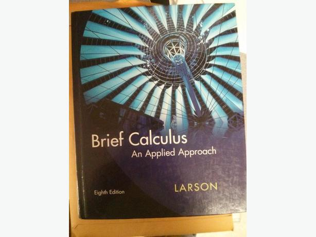 Brief Calculus: Applied Approach 8th
