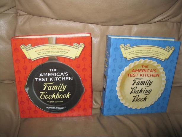 2 BRAND NEW - The America's Test Kitchen Family Cookbooks