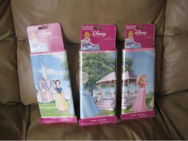 2 BRAND NEW (+1) - DISNEY Princess Wall Borders - ALL for ONLY $15
