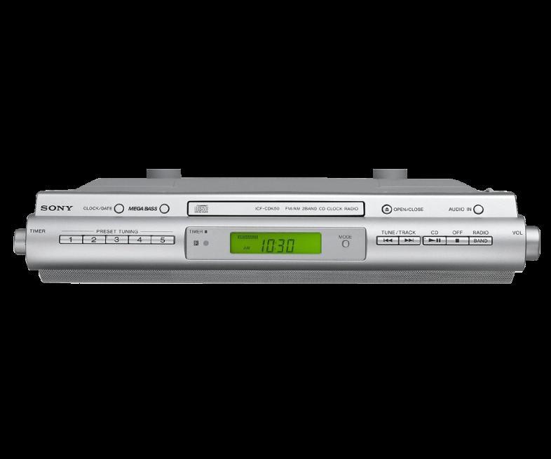 Kitchen Under Cabinet Radio Cd Player: Sony Fm/am Under Cabinet Cd Kitchen Clock Radio Osgoode