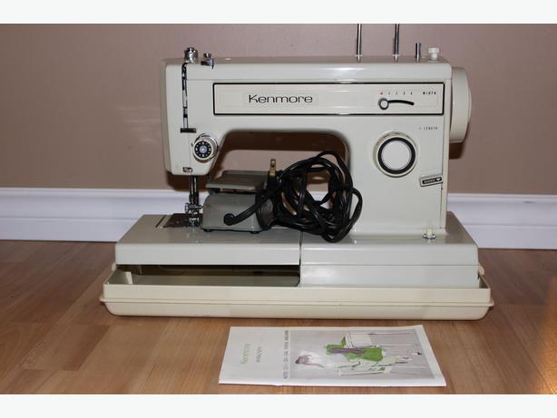 used kenmore sewing machine