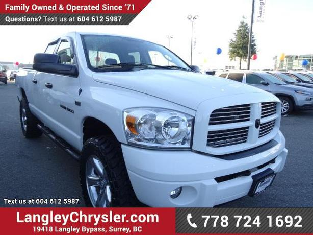 2007 dodge ram 1500 slt w power accessories air conditioning. Cars Review. Best American Auto & Cars Review