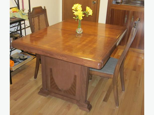Antique dining room table sault ste marie sault ste marie for Dining room tables 38 inches wide