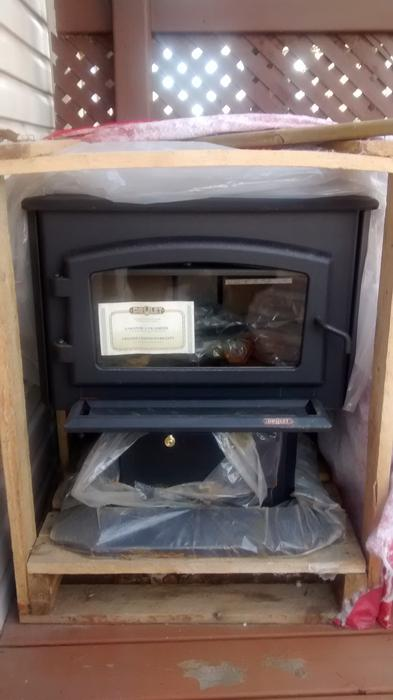 true north wood stove manual