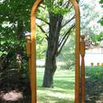 Some Refinished Antique Pine Window Mirrors
