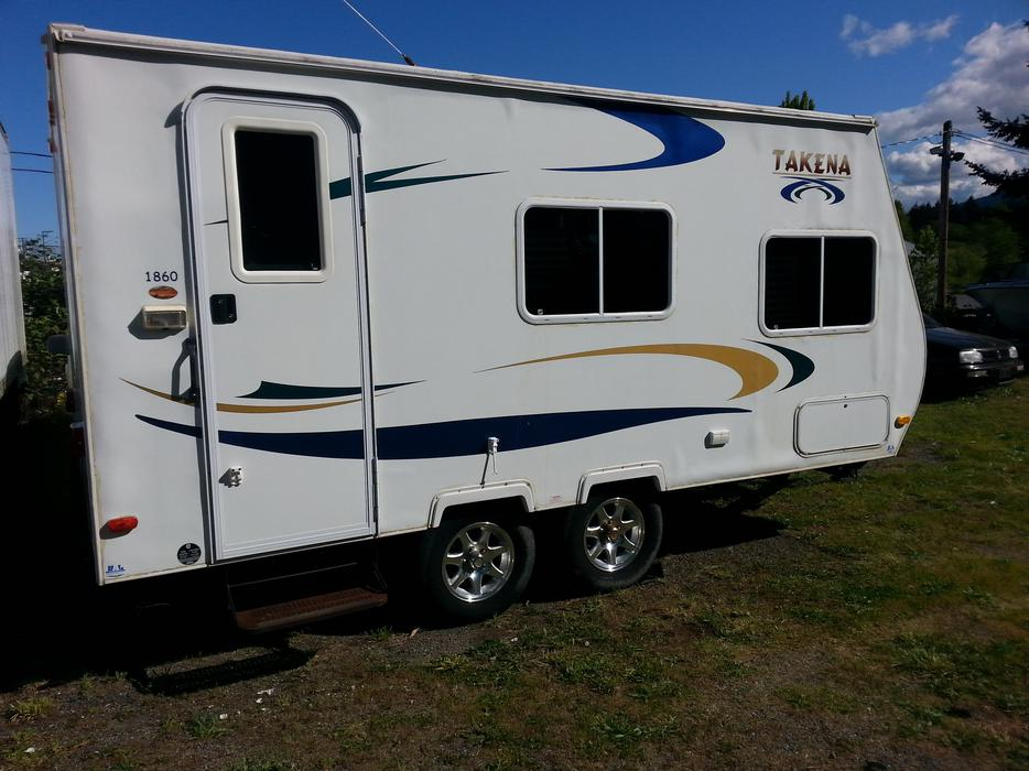 Used Takena Travel Trailer For Sale