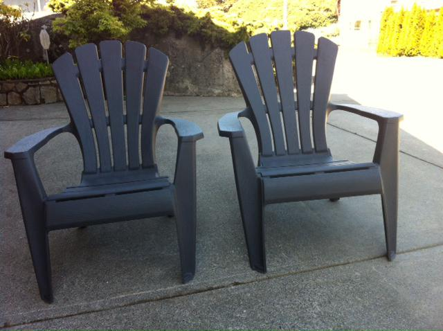 Comfortable patio chairs esquimalt view royal victoria for Comfortable lawn furniture