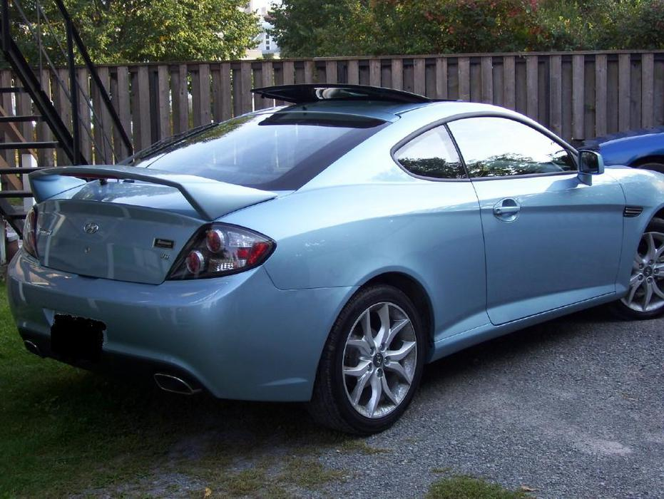 2007 hyundai tiburon gt coupe 2 door orleans ottawa. Black Bedroom Furniture Sets. Home Design Ideas