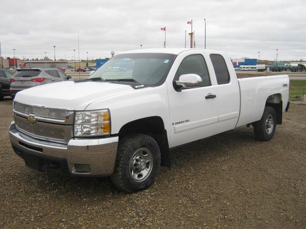 Chevrolet Silverado 2500hd Gatineau >> 2008 Chev Silverado 2500HD LT Ext. Cab 4x4 Yorkton, Regina