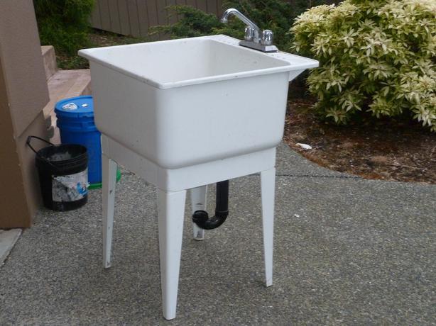Basement Utility Sink : Laundry Room or Basement Sink North Nanaimo, Nanaimo