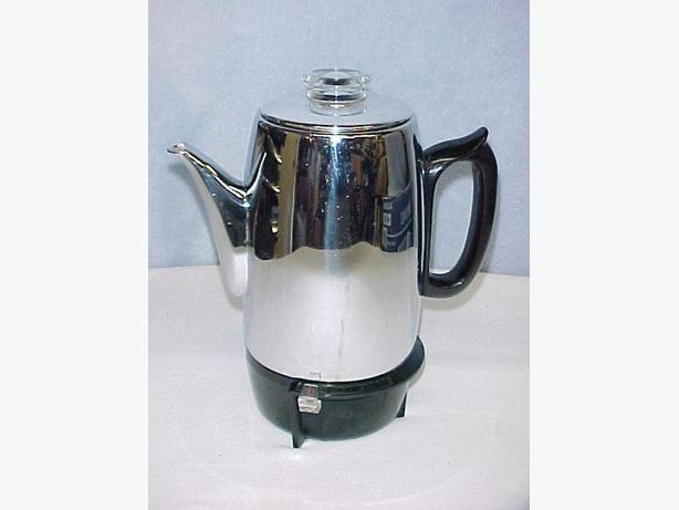 Vintage GE General Electric Coffee Pot Automatic Percolator Model P403A~NICE Ladysmith, Cowichan
