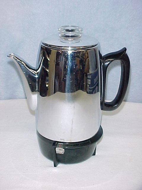 Vintage GE General Electric Coffee Pot Automatic Percolator Model P403A~NICE Ladysmith, Cowichan