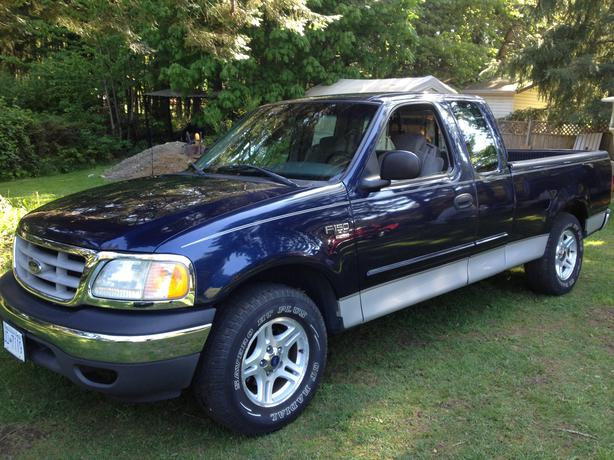 2002 Ford F150 Xl 2wd 2800 North Nanaimo Parksville