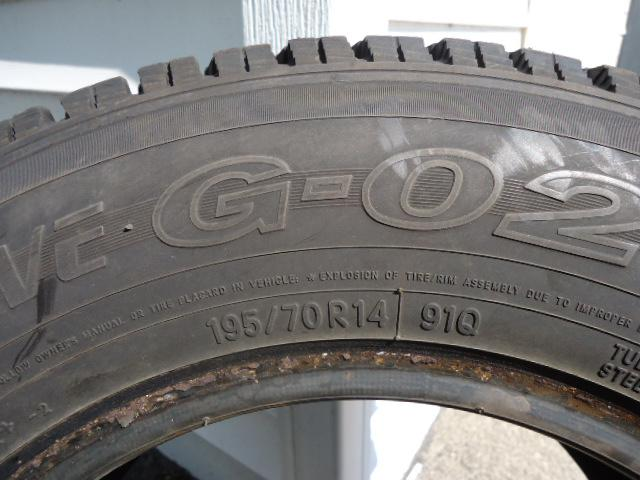 2 toyo winter tire p195 70r14 like new orleans gatineau for Garage ad orleans