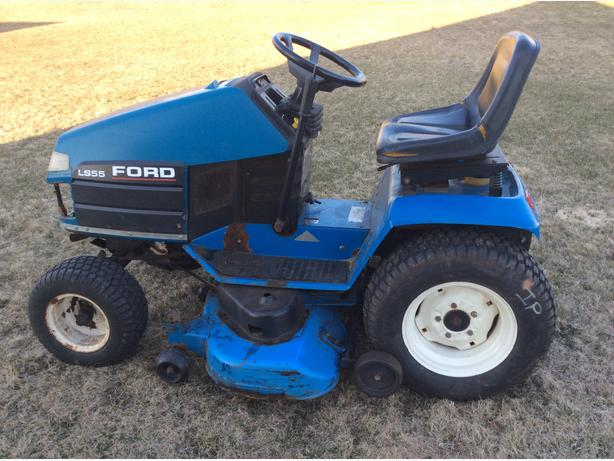 Used Ford Lawn Tractor : Ford new holland lawn tractor prince county pei