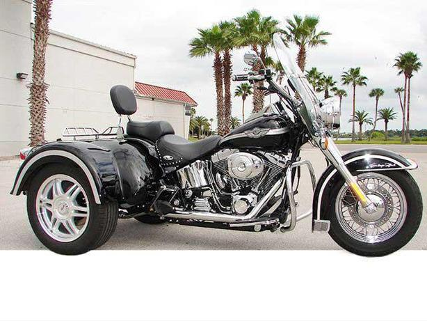 Convert your Harley Davidson Softail to a Trike