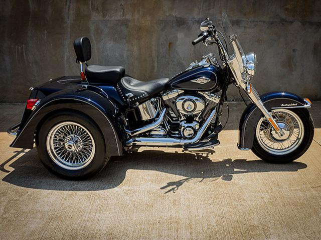 Harley Davidson Red Deer >> Harley Davidson Softail Trike Outside Victoria, Victoria