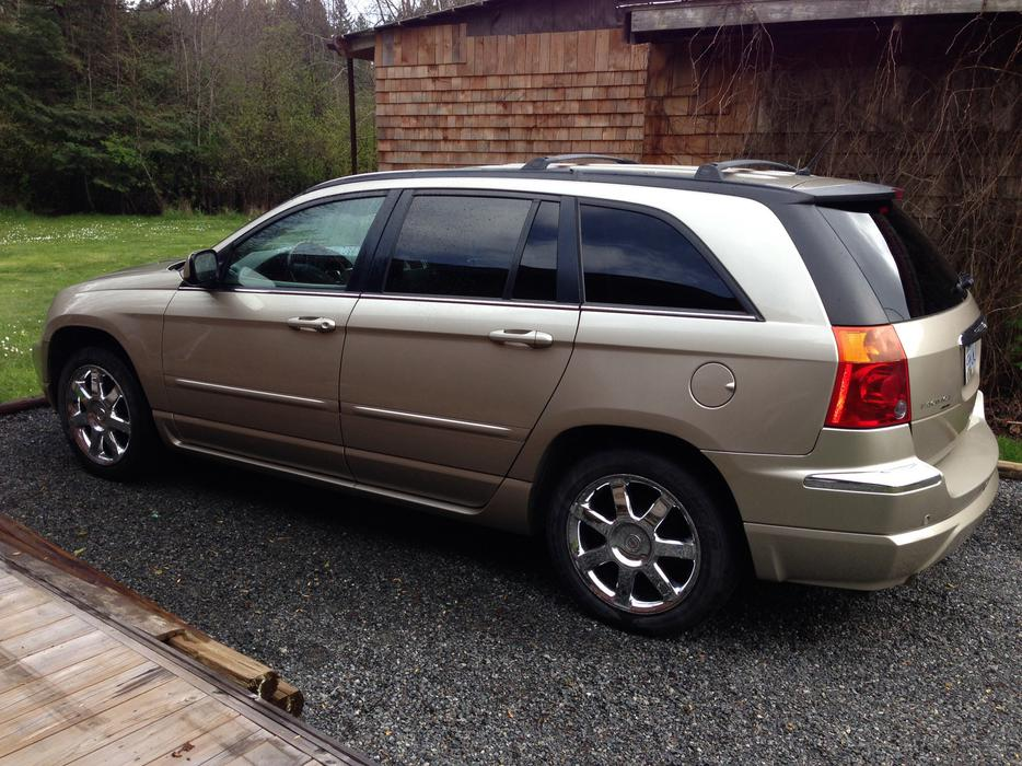 2007 Chrysler Pacifica Crossover SUV Outside Metro ...