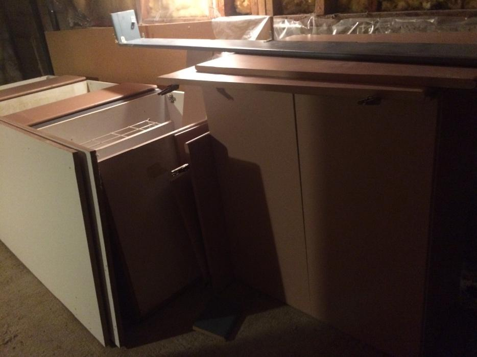 I need gone all of the cabinets for 300 esquimalt for Kitchen cabinets kamloops