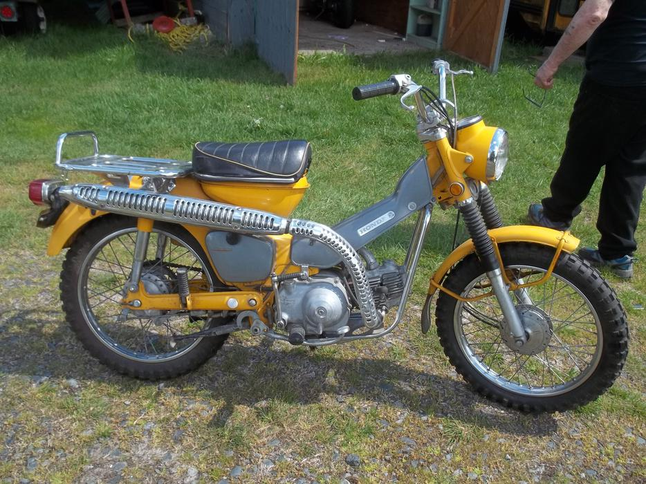1970 honda ct 90 outside nanaimo nanaimo. Black Bedroom Furniture Sets. Home Design Ideas