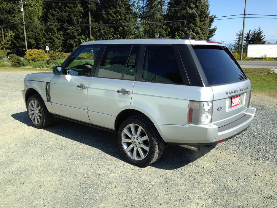 Here Is Your Chance To Own A 2006 Land Rover Range Rover Supercharged Parksville Nanaimo Mobile