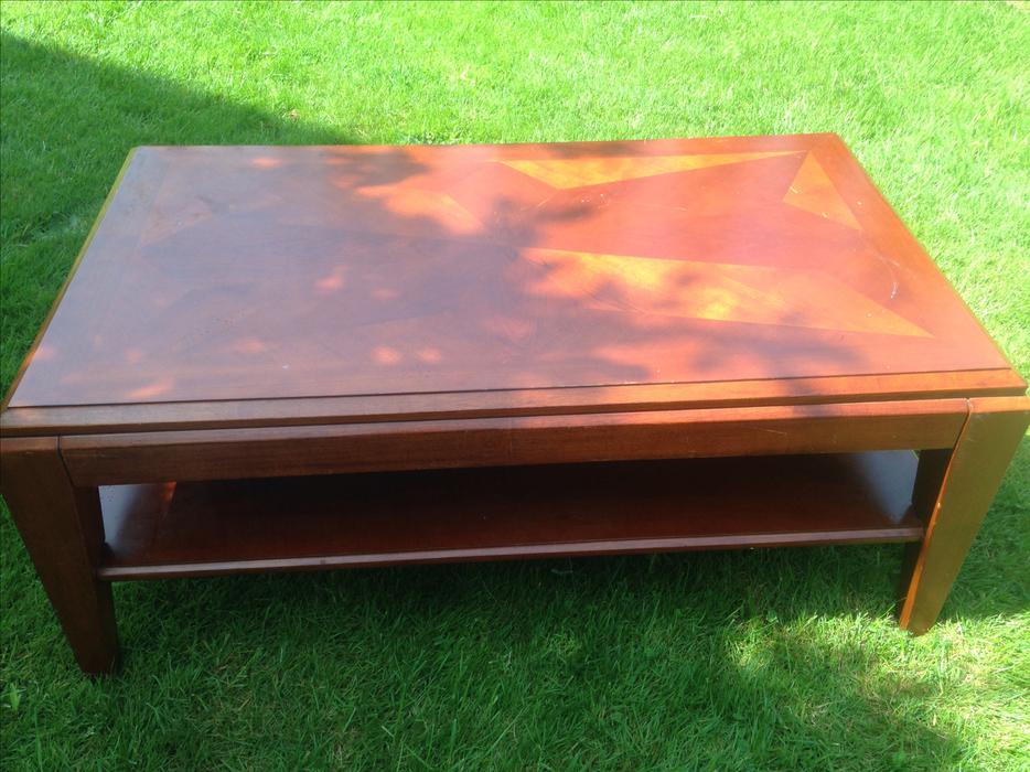 2 39 x 4 39 solid wood coffee table outside victoria victoria for Coffee tables london ontario
