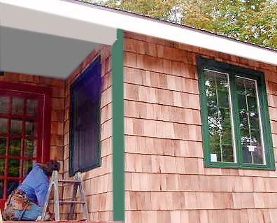 Wanted Cedar Shake Siding Pine Pre Primed T Amp G For Deck