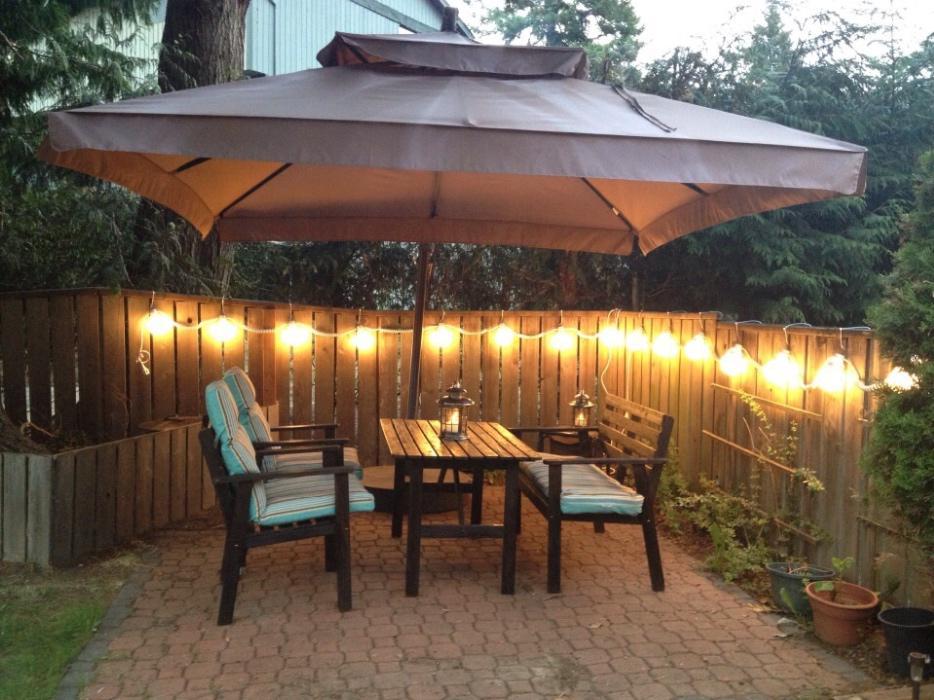 large patio umbrella saanich victoria