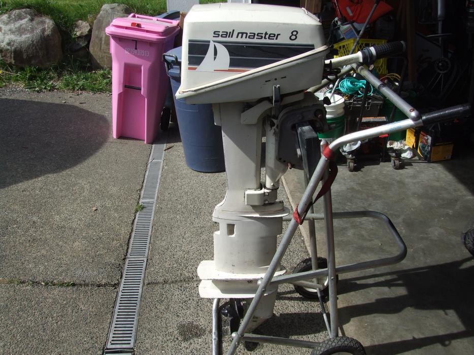 1986 Johnson Extra Long Shaft 8 Hp Outboard Sooke  Victoria
