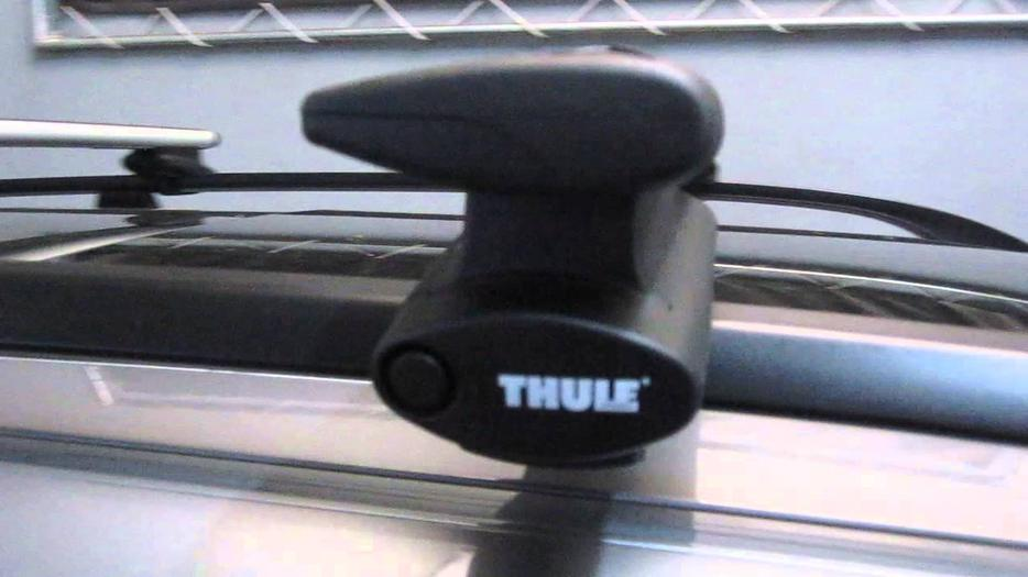 brand new thule rapid aeroblade system crossroad roof. Black Bedroom Furniture Sets. Home Design Ideas
