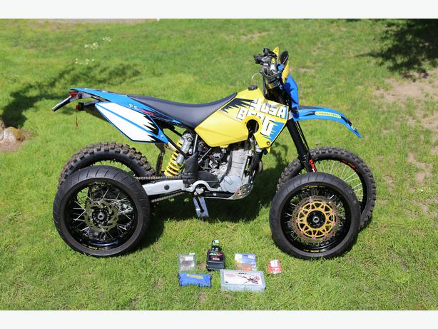 2008 husaberg fe450 street legal saanich victoria mobile. Black Bedroom Furniture Sets. Home Design Ideas