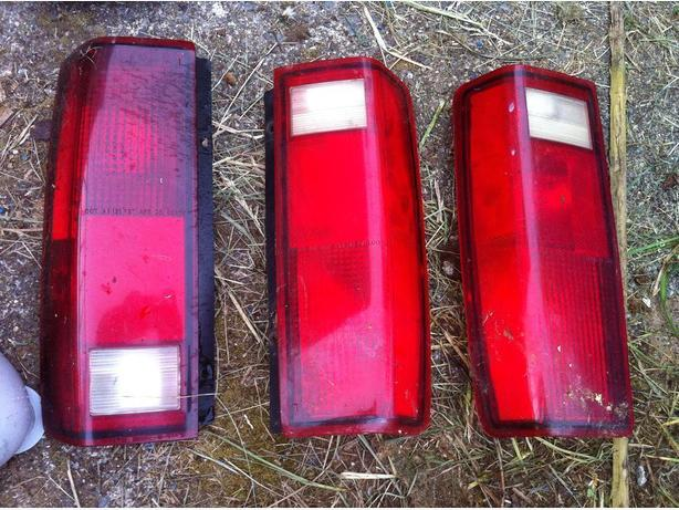 tail lights for Chevy Astro/Safari van