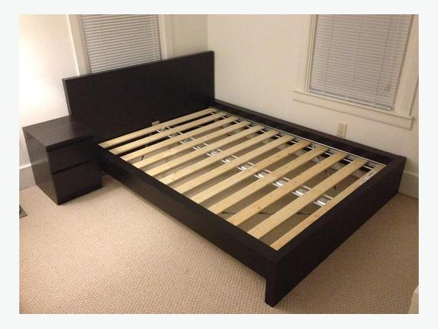 Ikea Lampen Op Zonne Energie ~ Log In needed $195 · FS IKEA queen size MALM bed frame