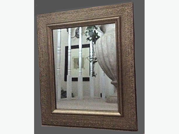 Mirror gloucester ottawa for Silver framed long mirror