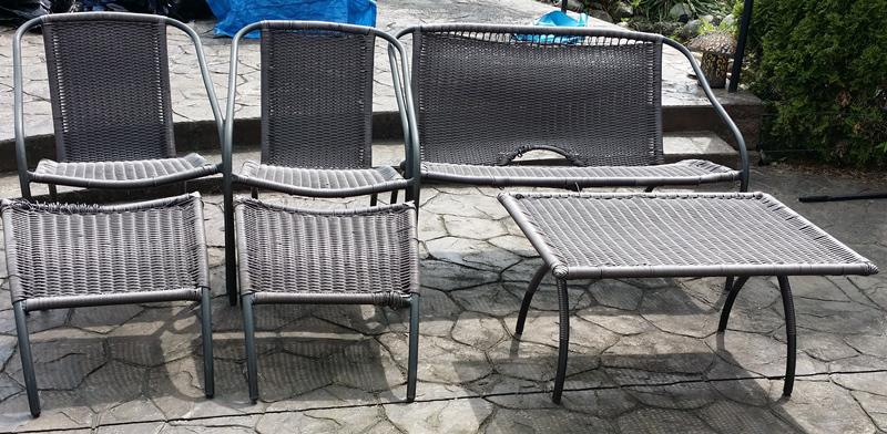 outdoor furniture set surrey incl white rock vancouver