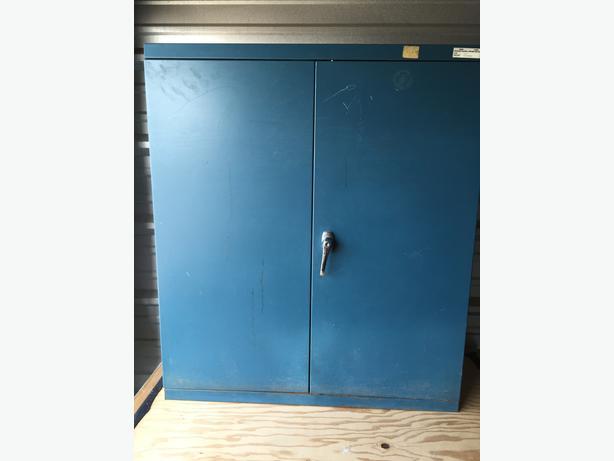 """Storage Cabinet 3' x 3', 12"""" deep."""