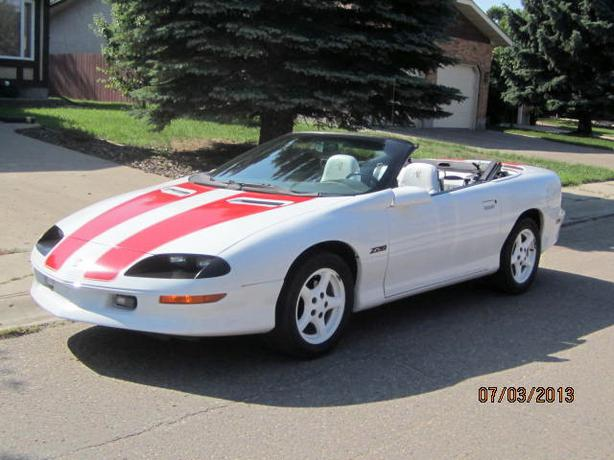 97 camaro z28 30 anniversary convertible go topless east regina regina. Black Bedroom Furniture Sets. Home Design Ideas