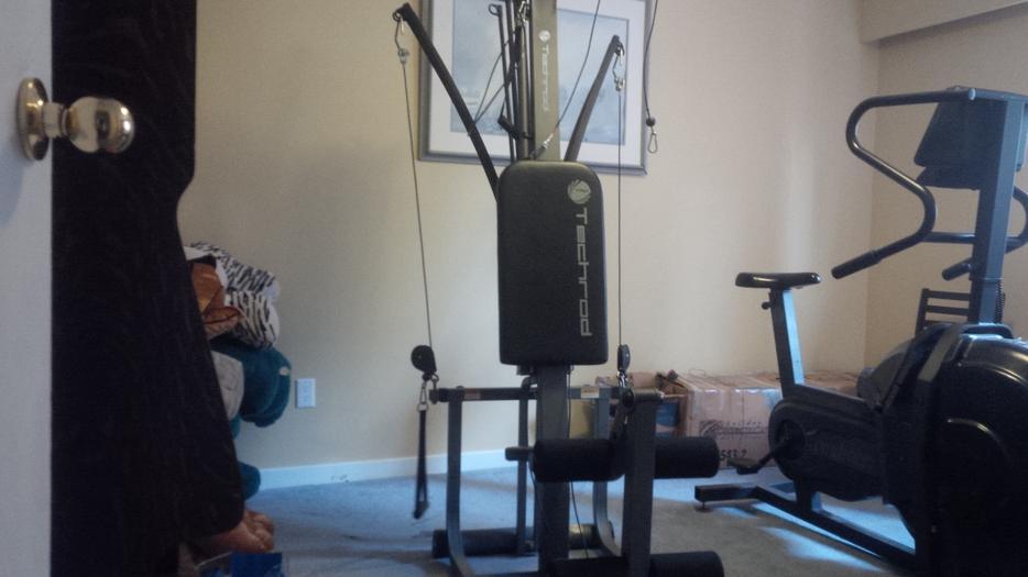 Techrod tr home gym for sale north saanich sidney