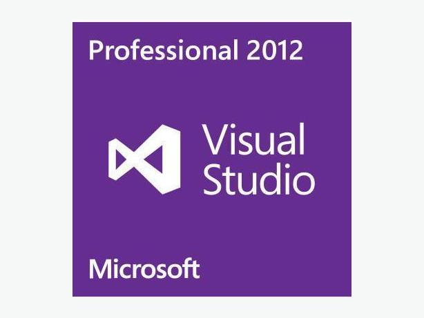 Microsoft Visual Studio Professional 2012   English or French version.