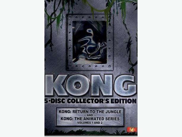 Kong Cartoon 5-DVDs